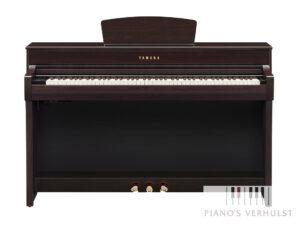 Yamaha CLP 735 R - Yamaha digitale piano dark rosewood 88 toetsen koptelefoon