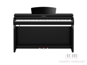 Yamaha Clavinova CLP 725 PE - digitale piano in zwart hoogglans Yamaha