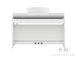 Yamaha Clavinova CLP 725 WH - witte digitale piano Yamaha met 88 toetsen en responsief klavier