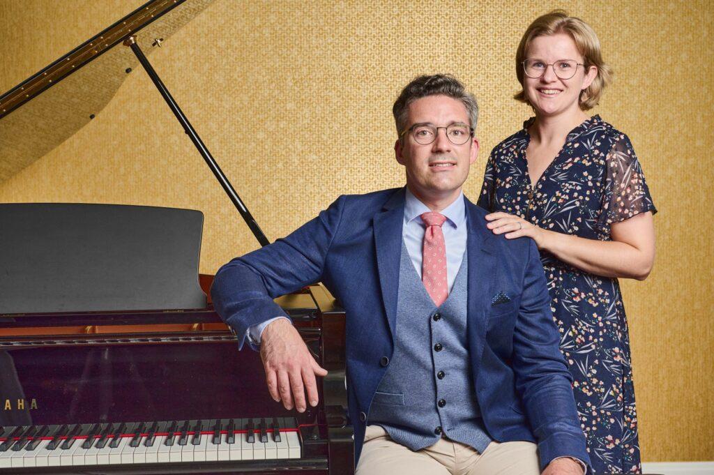 Over Piano's Verhulst - Dries Verhulst en Hanneleen De Seranno