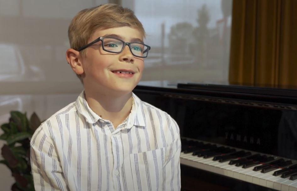 Tweedejaars piano Lars vertelt